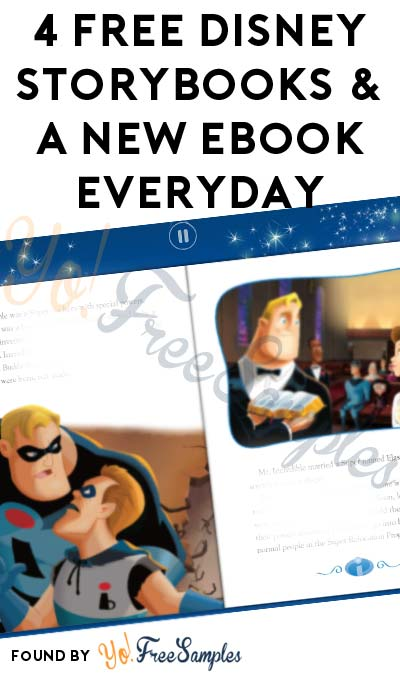 1 Code Added: FREE Disney Storybooks & A New eBook Everyday
