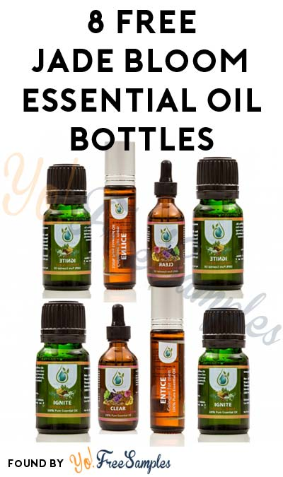 8 FREE Jade Bloom Essential Oil Bottles For Participating In Video & Quiz Based Educational Course (1 Hour+ Time Commitment Required) [Verified Received By Mail]