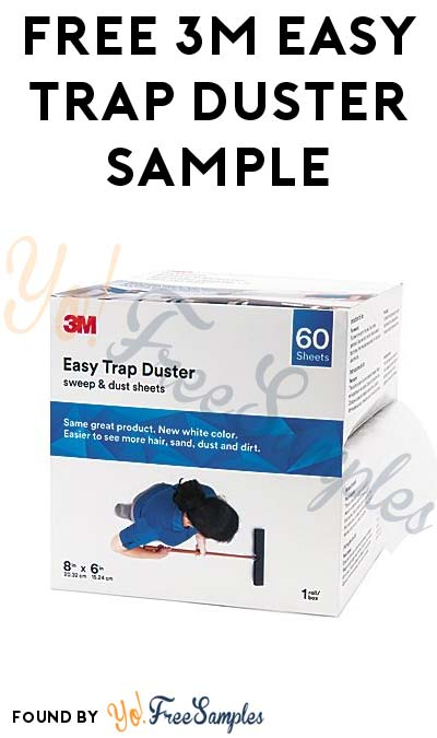 FREE 3M Easy Trap Duster Sample (Company Name Required)