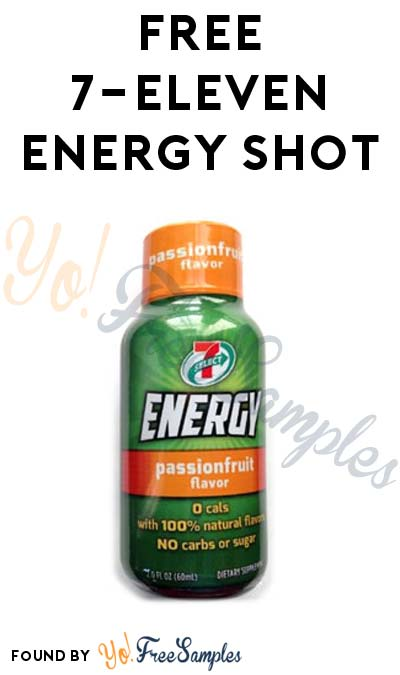 FREE 7-Eleven Energy Shot (Mobile App Required)