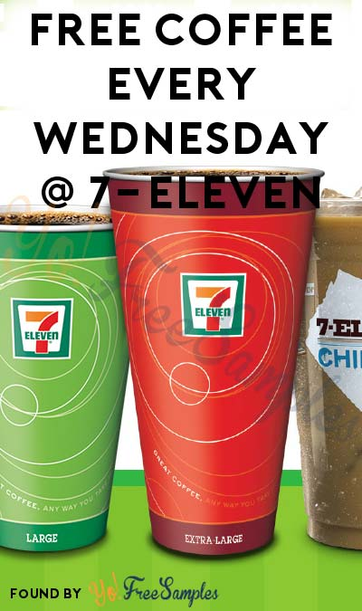 FREE Coffee Every Wednesday At 7-Eleven