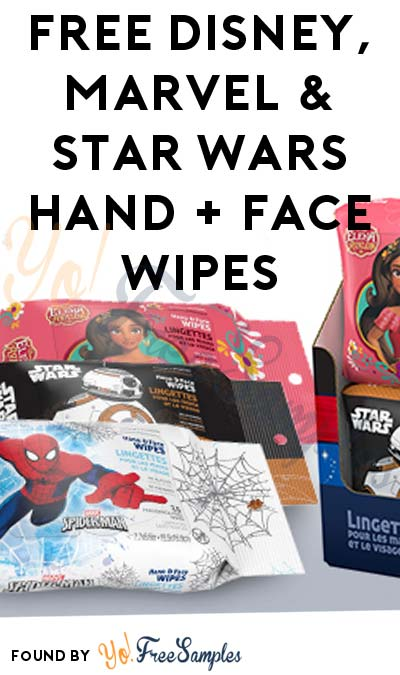 FREE Disney, Marvel & Star Wars Hand + Face Wipes & More (Apply To HouseParty.com)
