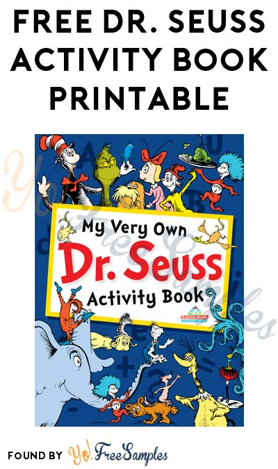 FREE Dr. Seuss Activity Book Printable