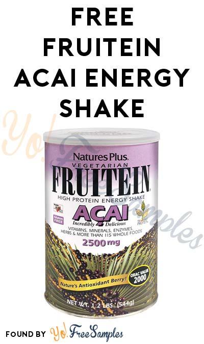 FREE FRUITEIN Acai Shake