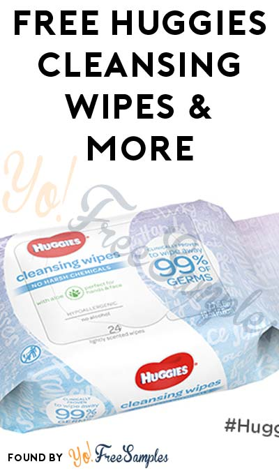 FREE Huggies Cleansing Wipes & More (Apply To HouseParty.com)