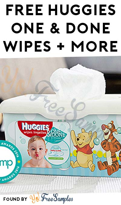 FREE Huggies One & Done Wipes + More (Apply To HouseParty.com)