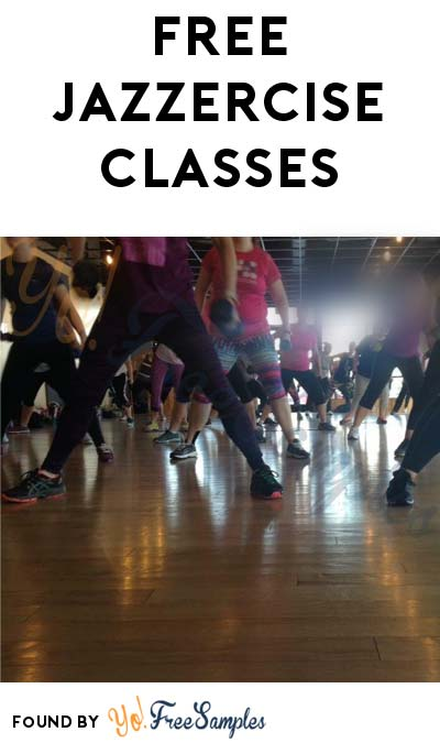 FREE Jazzercise Fitness Classes For Females 16-21 Years Of Age