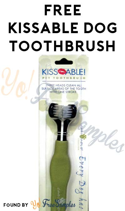 FREE Kissable Dog Toothbrush