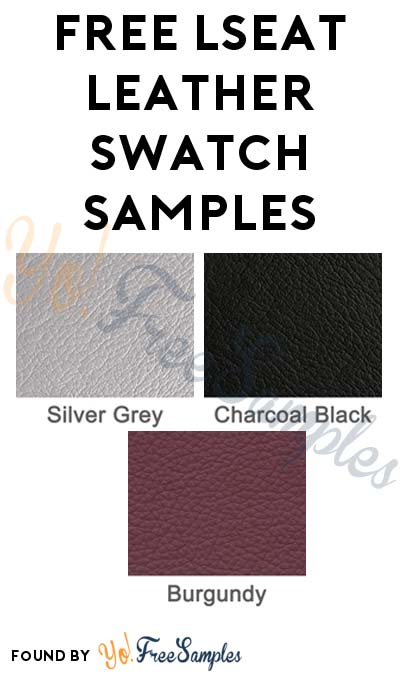 FREE Lseat Leather Swatch Samples [Verified Received By Mail]