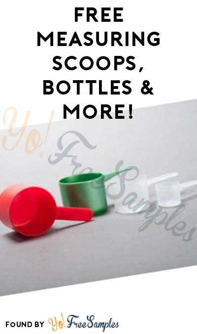 FREE Measuring Scoops, Bottles & More From Package All (Company Name Required)