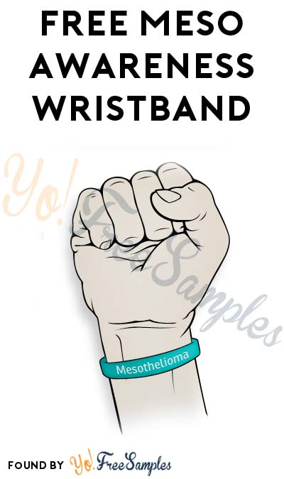 FREE Meso Awareness Wristband