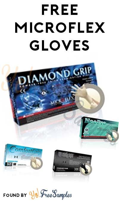 FREE Microflex Gloves