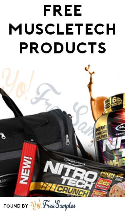 FREE MuscleTech Products For Fitness Minded Folks