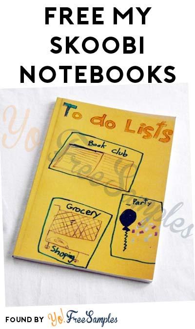 FREE My Skoobi Notebooks (Teachers Only) - Yo! Free Samples