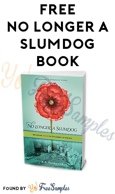 FREE No Longer a Slumdog Book