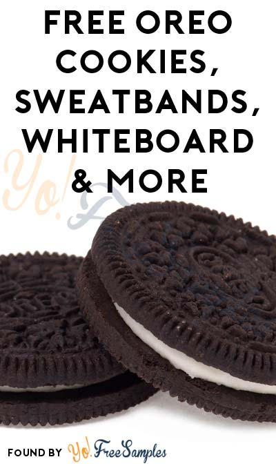 FREE OREO Cookies, Sweatbands, Whiteboard & More (Apply To HouseParty.com)