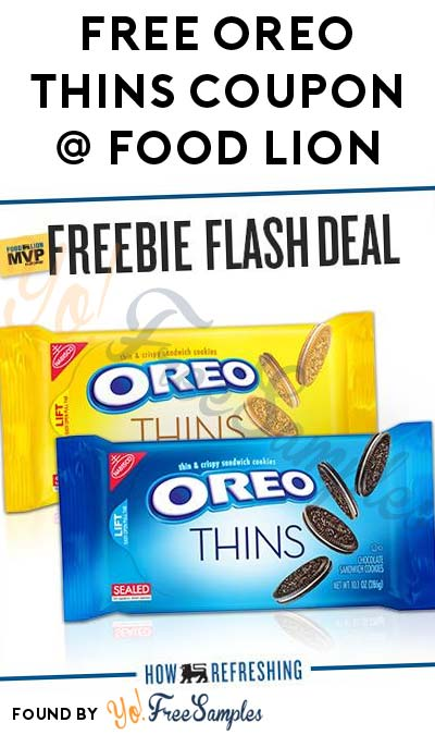 FREE Oreo Thins Coupon (Food Lion MVP Members)