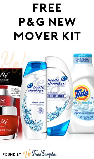 FREE P&G New Mover Kit (Short Survey Required / Not Mobile Friendly)