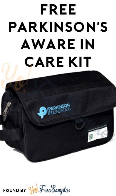 FREE Parkinson's Aware In Care Kit