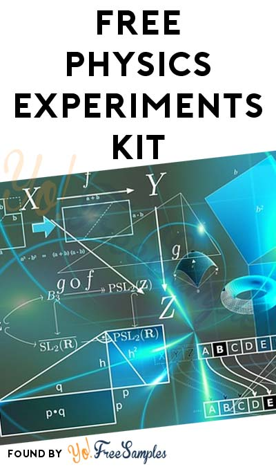 FREE PhysicsQuest Spectra Physics Experiments Kit (Email Confirmation Required) [Verified Received By Mail]