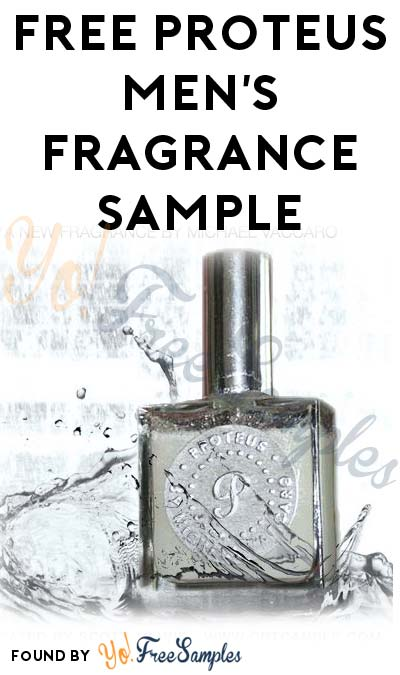 FREE Proteus Men's Fragrance Sample (Email Required)