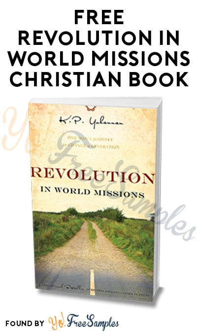 FREE Revolution in World Missions Christian Book [Verified Received By Mail]