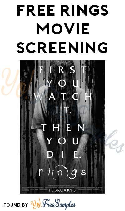 FREE Rings Movie Screening