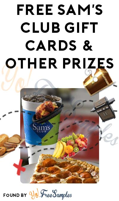 FREE Sam's Club Gift Cards & Other Prizes From Saver Sam Treasure Hunt (Sam's Club # Required)