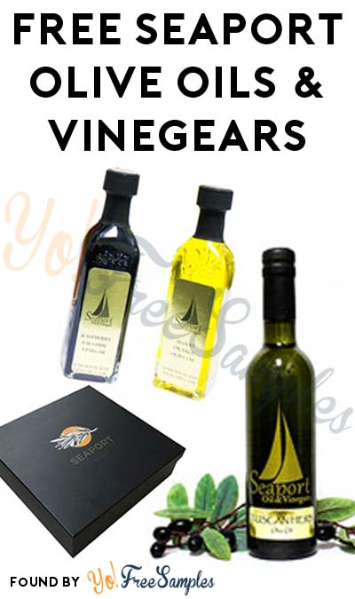 FREE Seaport Olive Oils & Vinegars For Referring Friends