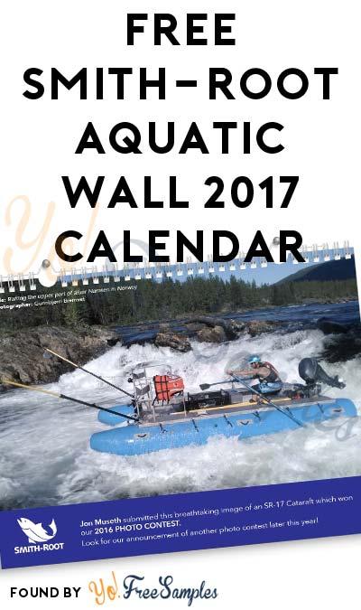FREE Smith-Root Aquatic Wall 2017 Calendar