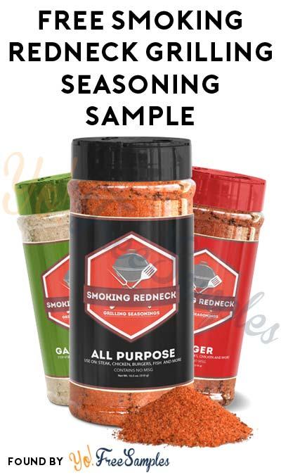 FREE Smoking Redneck Grilling Seasoning Sample