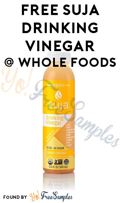 FREE Suja Drinking Vinegar At Whole Foods (Coupons & Ibotta Required) [Verified Received]