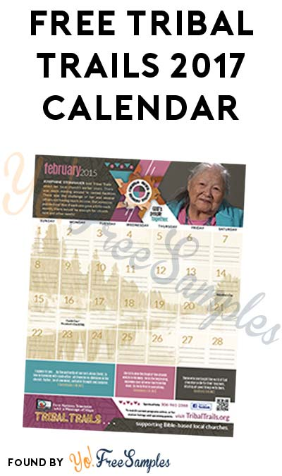 FREE Tribal Trails 2017 Calendar