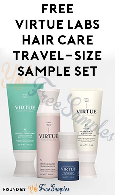 FREE Virtue Labs Hair Care Products Travel-Size Set