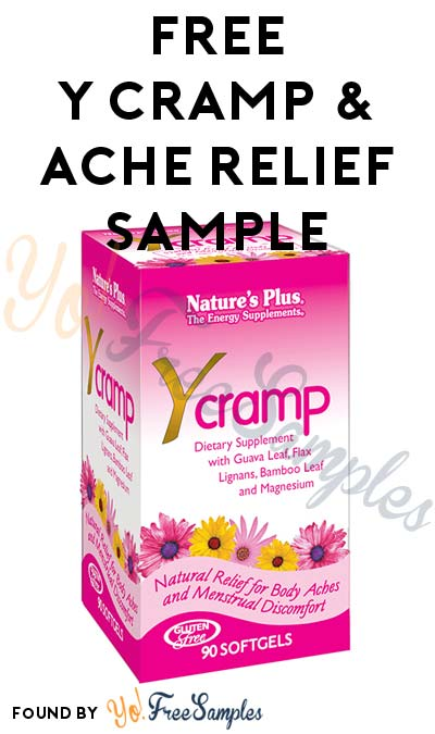 FREE Y Cramp & Ache Relief Sample