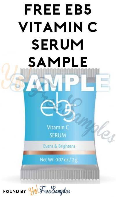 FREE eb5 Vitamin C Serum Sample