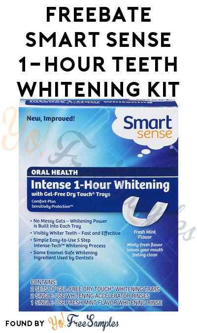 FREEBATE Smart Sense 1-Hour Teeth Whitening Kit After In-Store Pick Up & Kmart Cashback