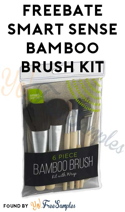 FREEBATE Smart Sense Bamboo Brush Kit After In-Store Pick Up & Kmart Cashback