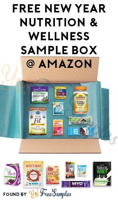 FREE New Year Nutrition & Wellness Product Sample Box After Rebate For Amazon Prime Members [Verified Received By Mail]
