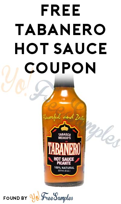 FREE Tabanero Hot Sauce Coupon At Publix, Ralphs, Sprouts & Cost Plus World Market