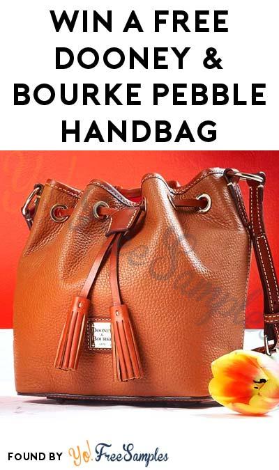 Win A FREE Dooney & Bourke Pebble Handbag