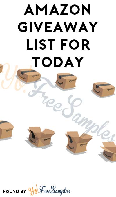 Win FREE Stuff From Amazon Bouncy Box Giveaways List For 3/16/2017