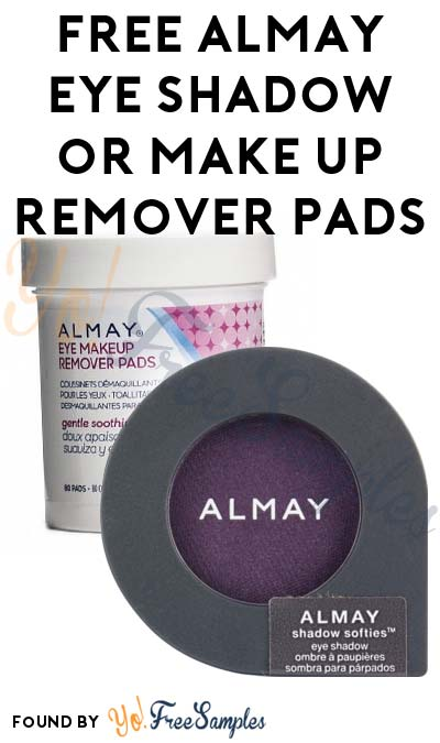 Possible FREE Almay Shadow Softies or Make Up Remover Pads With $4 OFF Coupon