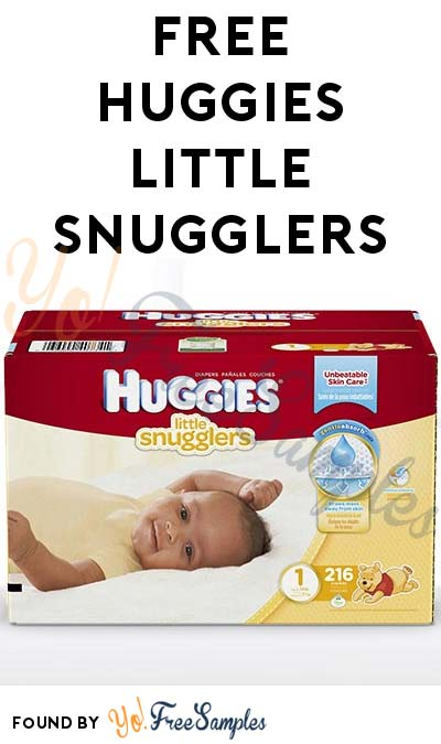 FREE Huggies Little Snugglers Sample (Short Survey Required / Not Mobile Friendly)