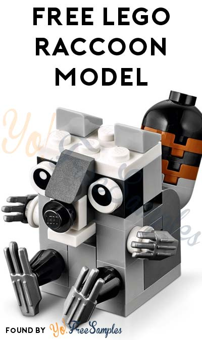 Registration Open: FREE LEGO Raccoon Model From Mini Model Build Event February 7th & 8th 2016