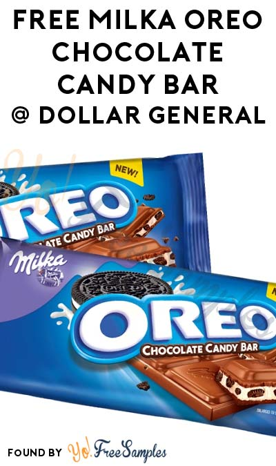 FREE Milka Oreo Chocolate Candy Bar At Dollar General (In-Store Coupon)