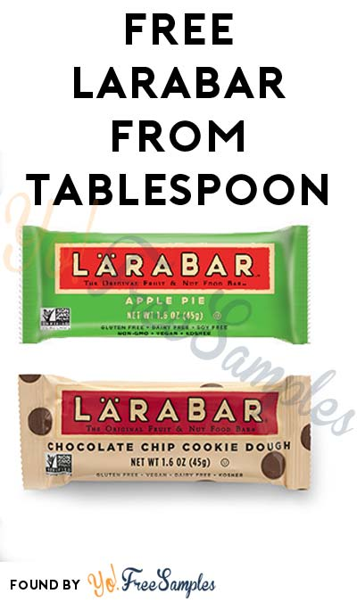 FREE Larabar Sample From Tablespoon.com (Existing Members Only)