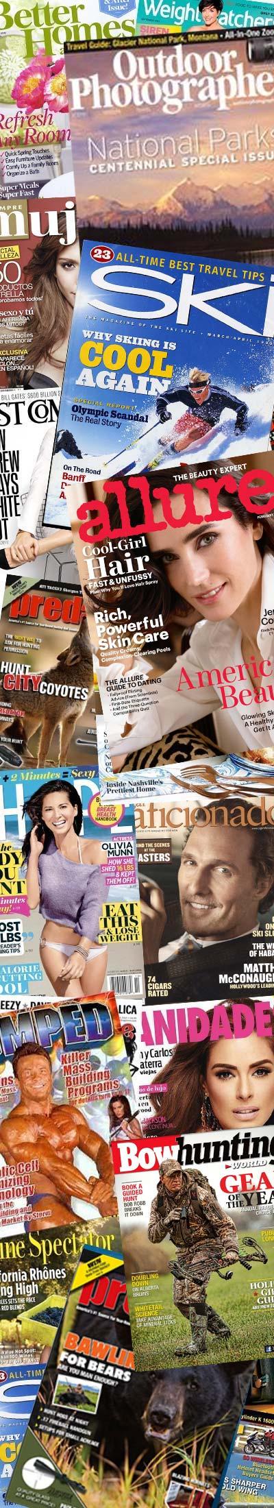 31 FREE Magazines Today