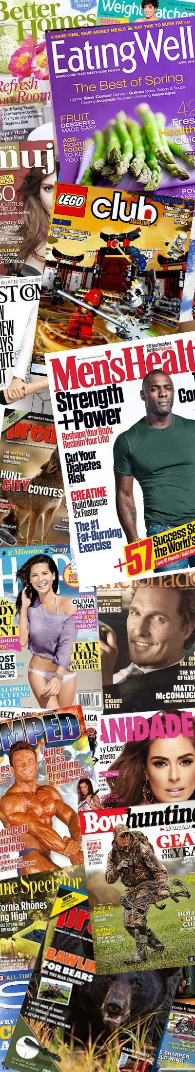 29 FREE Magazines Today