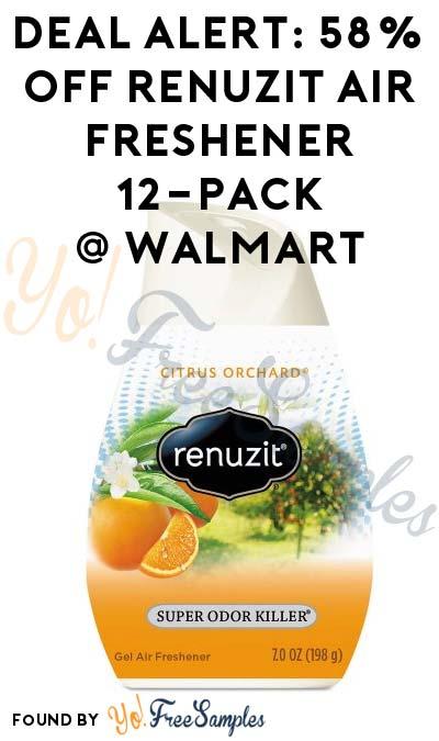 DEAL ALERT: 58% OFF Renuzit Adjustables Air Freshener 12-Pack At Walmart